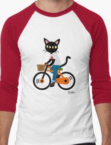 Summer cycling Men's Baseball ¾ T-Shirt