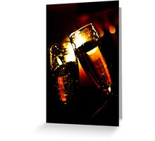 Toasting Our Anniversary! Greeting Card