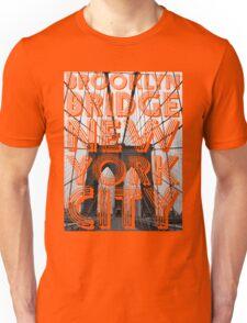 Brooklyn Bridge, New York City Unisex T-Shirt