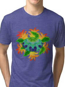 Flame Turtle Tri-blend T-Shirt