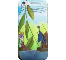 A Visit To The Mason Pond iPhone Case/Skin