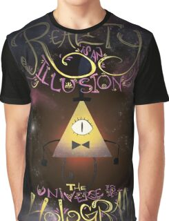 Reality is an Illusion - Bill Cipher Graphic T-Shirt