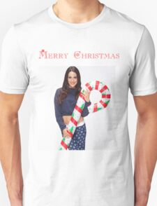 Brie Bella Christmas Candy Cane - WWE Diva, Wrestling T-Shirt