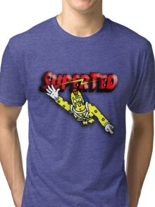 Super Ted Spotty Tri-blend T-Shirt