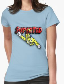 Super Ted Spotty Womens Fitted T-Shirt