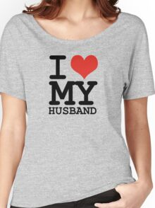 I love my husband Women's Relaxed Fit T-Shirt