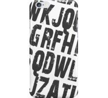 Type iPhone Case/Skin