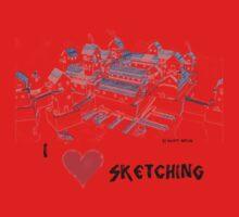 Seatown Sketch Kids Tee