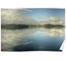 Gairloch...Cloud Reflections Poster