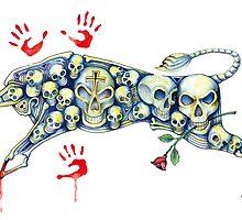 Skull bull... by J-M MACIAS