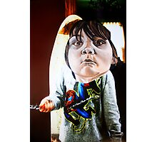 Big Head  Photographic Print