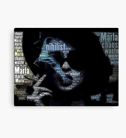Marla Marla Marla  Canvas Print