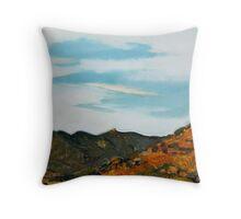 Hills of Sunshine Throw Pillow