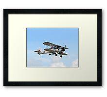 Fairey Swordfish II LS326 Framed Print
