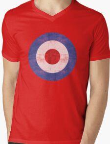 Mod Target Mens V-Neck T-Shirt