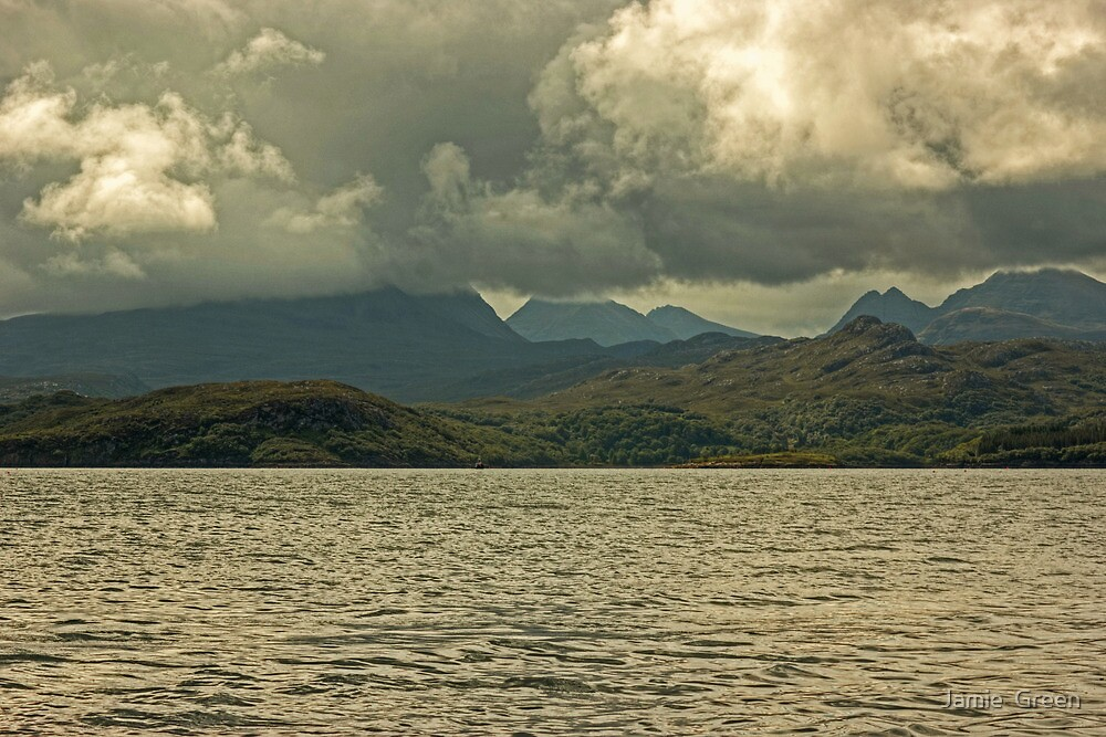 Gairloch..The Gathering Clouds by Jamie  Green
