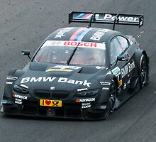 Limping BMW - DTM by Philip Clarke