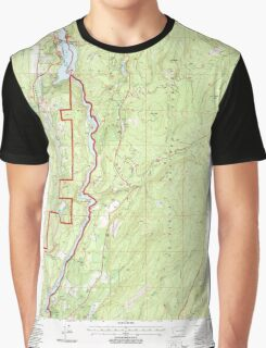 USGS Topo Map Washington State WA Boundary Dam 240170 1992 24000 Graphic T-Shirt