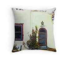 smells like green chile roasting in the distance Throw Pillow
