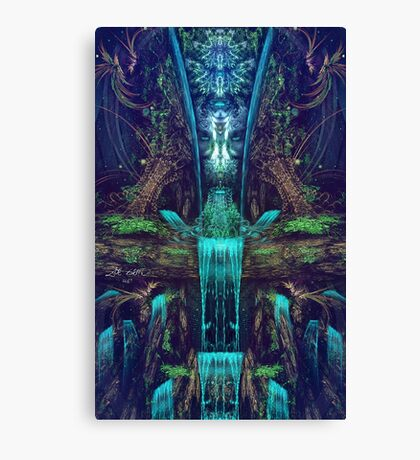 Waters Fall Canvas Print