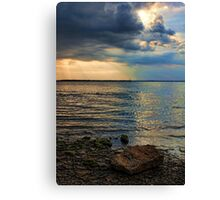 Shining Down Canvas Print