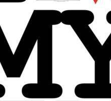 I love my TV Sticker