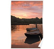 Morning Calm at Little Harbor Poster