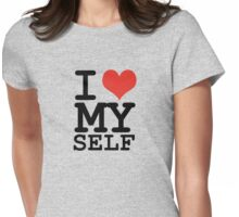I love myself Womens Fitted T-Shirt