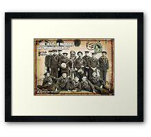 Glee 1896 USN Framed Print