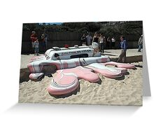 Sculpture By Sea: Soft Serve, Australia 2006 Greeting Card