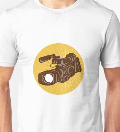 Professional Video Camera Camcorder Retro Unisex T-Shirt
