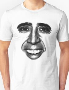 Nicolas Cage as a T-Shirt Unisex T-Shirt