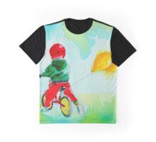 The Yellow Balloons Graphic T-Shirt