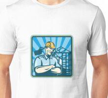 Construction Engineer Foreman Worker Unisex T-Shirt