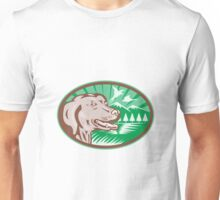 Labrador Retriever Hunting Dog Retro Unisex T-Shirt