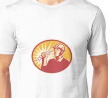 Electrician Power Line Worker Lightning Bolt Unisex T-Shirt