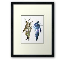 Eternal Enemies Framed Print
