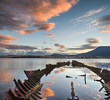 Otago Bay Shipwreck - Hobart by justinjamestas