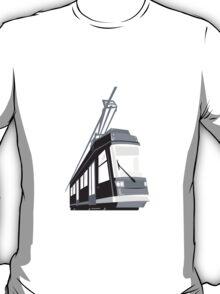 Modern Streetcar Tram Train T-Shirt