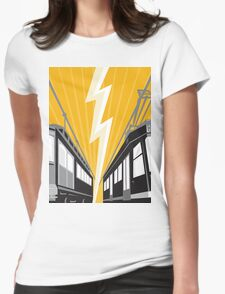 Vintage and Modern Streetcar Tram Train T-Shirt