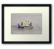 Two Dads! Framed Print