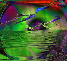 Emergence from the vast ocean of possibility   by Lawrence Alfred Powell