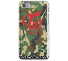 TWICE Camo (logo only) iPhone Case/Skin