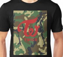 TWICE Camo (logo only) Unisex T-Shirt