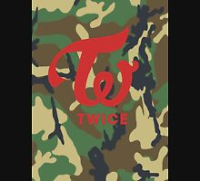 TWICE Camo (logo only) T-Shirt