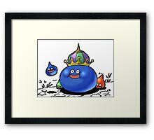 Dragon Quest Slimes Framed Print