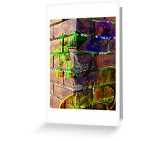 Geeki Graffiti Greeting Card