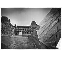 Musée du Louvre Pyramid Poster