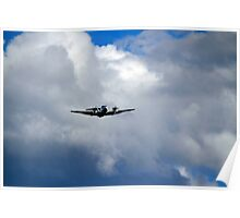 Beechcraft Twin Turboprop Poster