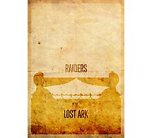 Raiders (aged) Photographic Print